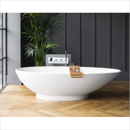 Victoria & Albert - Napoli Freestanding Bath 1909 x 855mm