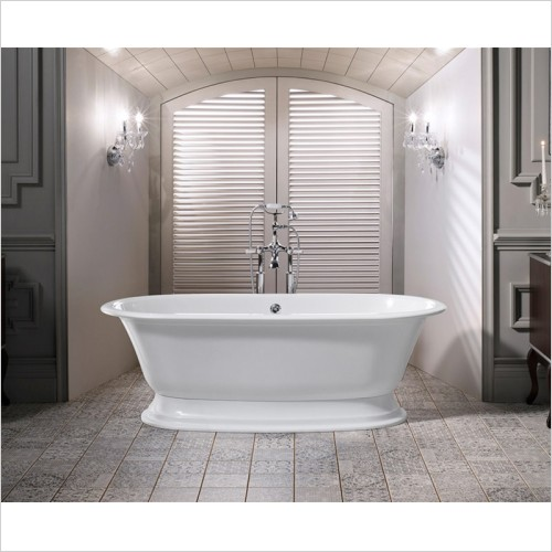Victoria & Albert - Elwick Freestanding Bath 1902 x 910mm