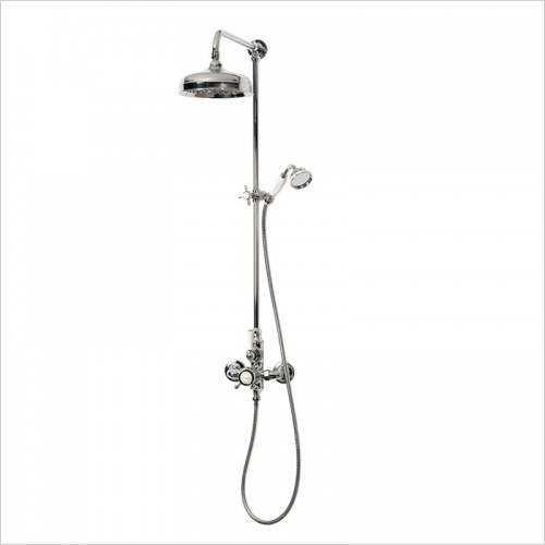 Victoria & Albert - Staffordshire 20 Thermostatic Shower With Handheld Shower