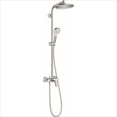 Hansgrohe - Crometta S 240 1jet Showerpipe With Single Lever Mixer