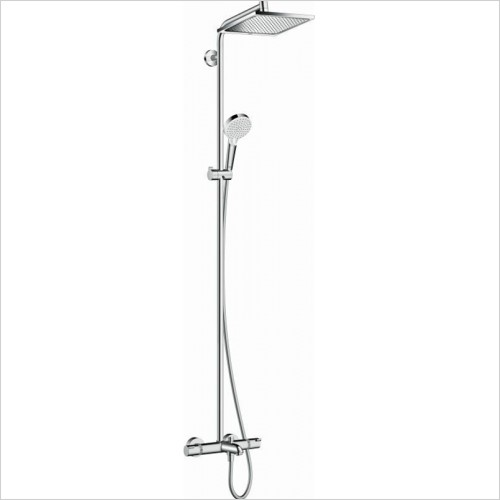 Hansgrohe - Crometta E 240 1Jet Showerpipe For Bath Tub