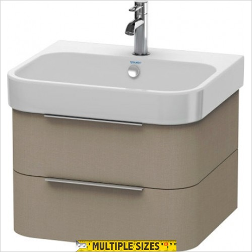 Duravit - Happy D.2 Vanity Unit With 2 Drawers For 600mm Basin