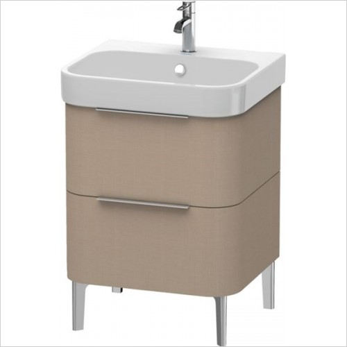 Duravit - Happy D.2 Vanity Unit Freestanding 575, F 231860, 2 Drawer
