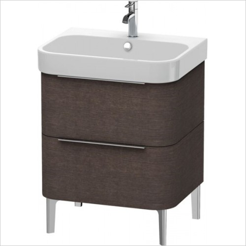 Duravit - Happy D.2 Vanity Unit Freestanding 625, F 231865, 2 Drawer