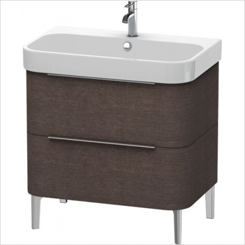 Duravit - Happy D.2 Vanity Unit Freestanding 775, F 231880, 2 Drawer