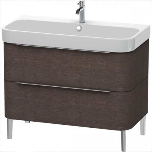Duravit - Happy D.2 Vanity Unit Freestanding 975, F 231810, 2 Drawer