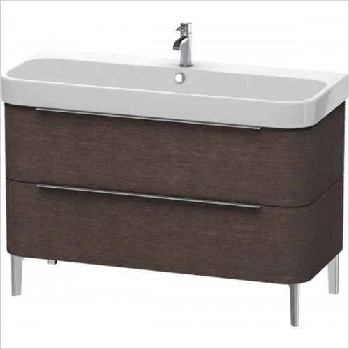 Duravit - Happy D.2 Vanity Unit Freestanding 1175, F 231812, 2 Drawer