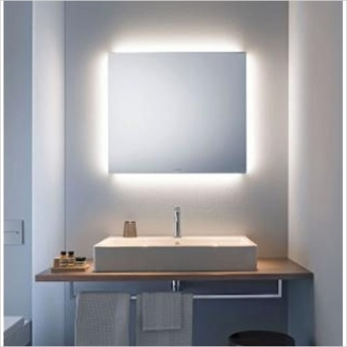 Duravit - Light & Mirrors Mirror With 4 Ambient Lights, Better, 600mm