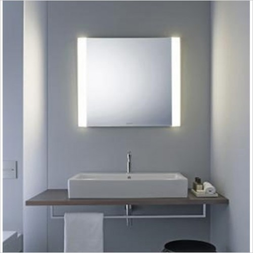Duravit - Light & Mirrors Mirror With Dual Lights, Better, 600mm