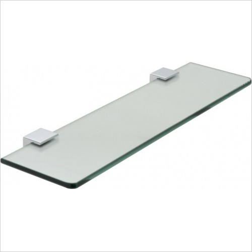 Vado - Phase Frosted Glass Shelf 558mm (22'')