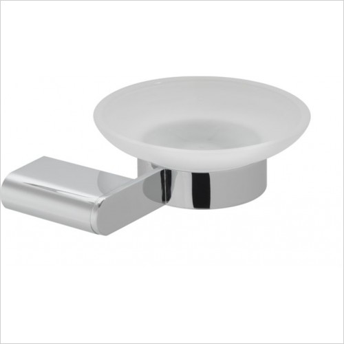 Vado - Photon Frosted Glass Soap Dish & Holder