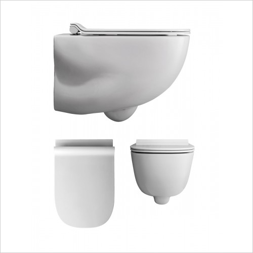 Crosswater - Wild Rimless Wall Hung WC