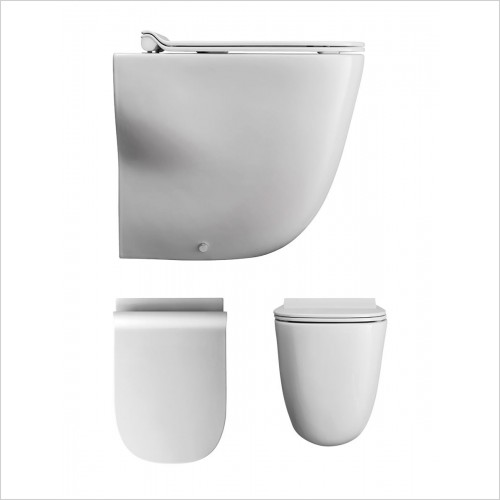 Crosswater - Wild Rimless Back To Wall WC