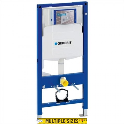 Geberit - Duofix 1.12m Frame For Wall Hung WC Without Brackets & Bend