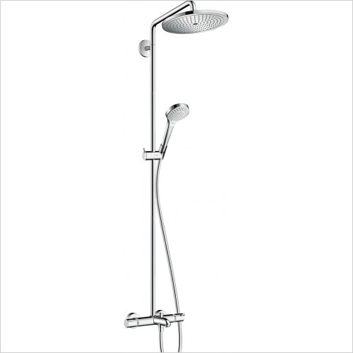 Hansgrohe - Croma Select S 280 Air 1 Jet Showerpipe For Bath Tub