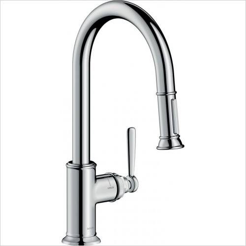 Hansgrohe - Axor Montreux Single Lever Kitchen Mixer With Pull-Out Spray