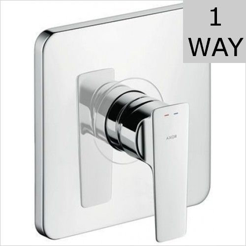 Hansgrohe - Citterio E Single Lever Shower Mixer, Lever Handle, Conc.
