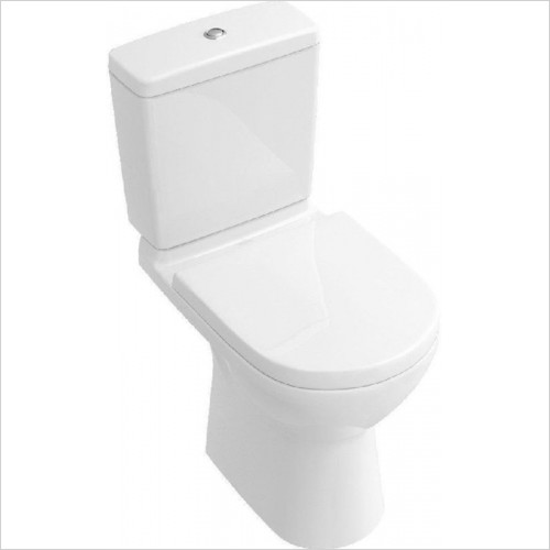 Villeroy & Boch - O.Novo Close-Coupled Toilet With Vertical Oultlet