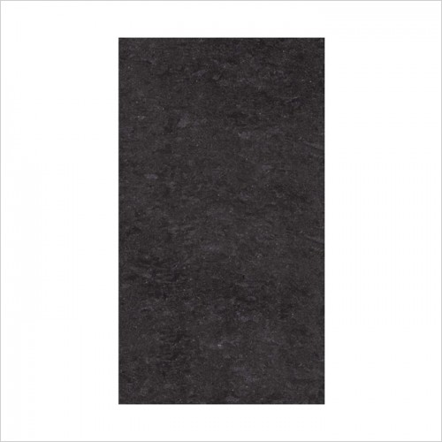Park Street Bathrooms - Pearl Black Polished Porcelain Tile 600 x 300mm