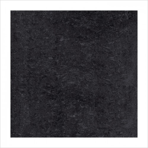 Park Street Bathrooms - Pearl Black Polished Porcelain Tile 600 x 600mm