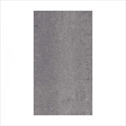 Park Street Bathrooms - Pearl Dark Grey Polished Porcelain Tile 600 x 300mm