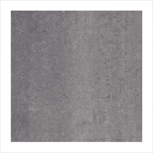 Park Street Bathrooms - Pearl Dark Grey Polished Porcelain Tile 600 x 600mm