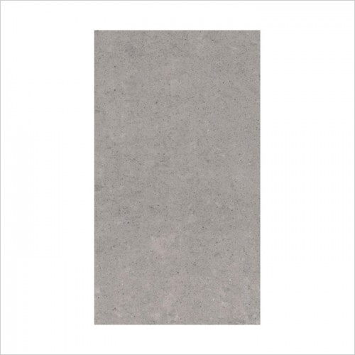 Park Street Bathrooms - Pearl Light Grey Polished Porcelain Tile 600 x 300mm