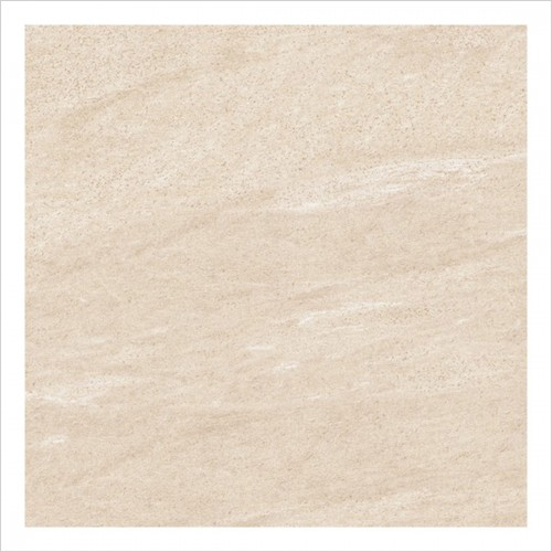 Park Street Bathrooms - Bergamo Beige Matt Porcelain Wall & Floor Tile 410 x 410mm