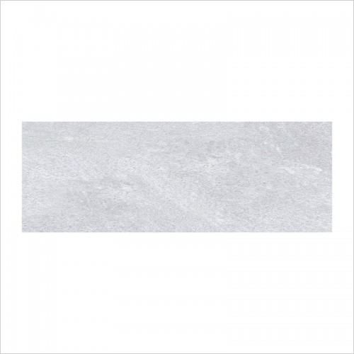 Park Street Bathrooms - Bergamo Grey Matt Ceramic Wall Tile 700 x 250mm