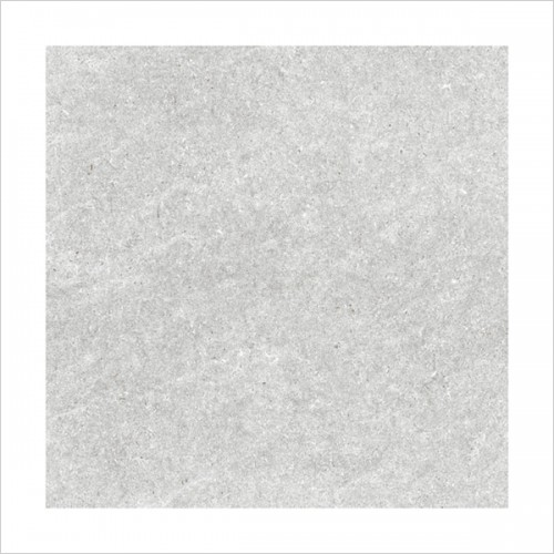 Park Street Bathrooms - Bergamo Grey Matt Porcelain Wall & Floor Tile 410 x 410mm