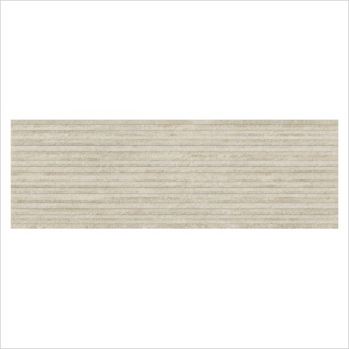 Park Street Bathrooms - Basilica Beige Matt Ceramic Decor Wall Tile 900 x 300mm