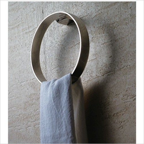 Art Of Living - Pure Stainless Steel Towel Ring