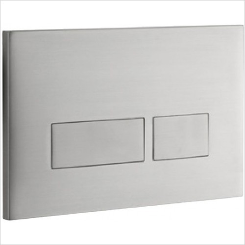 Art Of Living - Easi Plan Trend 2S Stainless Steel Flush Plate