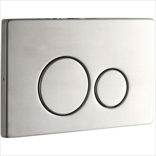 Art Of Living - Easi Plan ISO 2S Stainless Steel Flush Plate