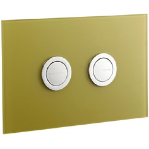 Art Of Living - Lustrolite Glass Effect Flush Plate
