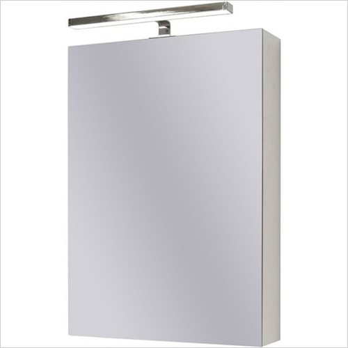 Art Of Living - Pure Mirror Cabinet 50 With LED, Sensor & Shaver Socket