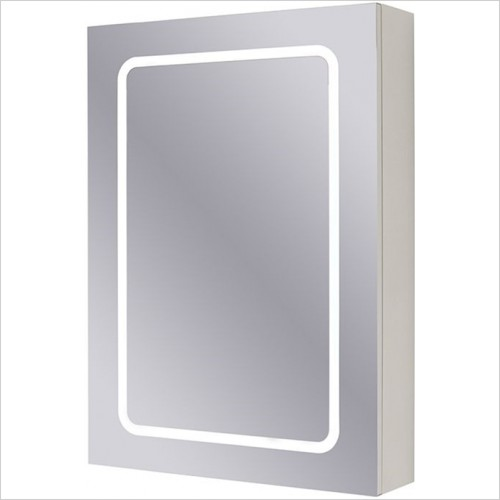 Art Of Living - D-Style Mirror Cabinet 50 LED, Shaver Socket & Desmister