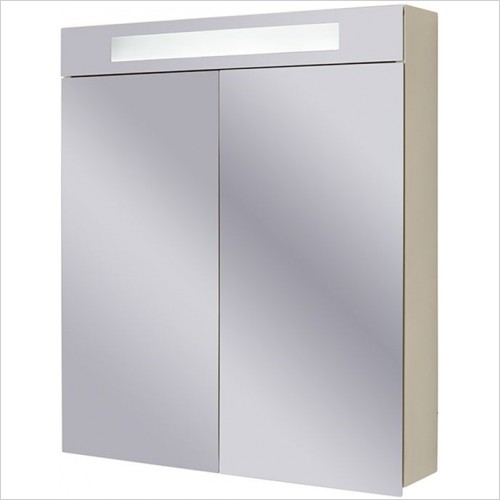 Art Of Living - Pure Mirror Cabinet 60 With LED, Sensor & Shaver Socket