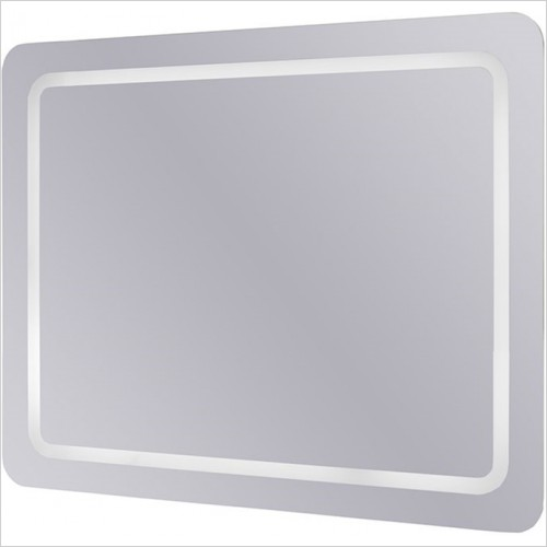 Art Of Living - D-Style Mirror 80/60 With LED, Sensor Switch & Demister