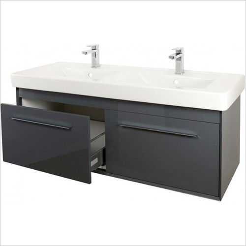 Art Of Living - Simple Double Vanity Unit 1300mm