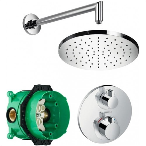 Art Of Living - Temptation Thermostatic Shower With Fixed Round Shower Head