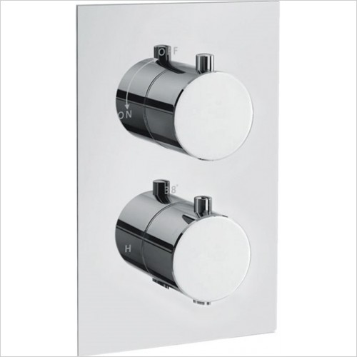 Art Of Living - Emotion Round Thermostatic Shower Mixer (1 Outlet)