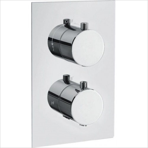 Art Of Living - Emotion Round Thermostatic Shower Mixer (2 Outlet)