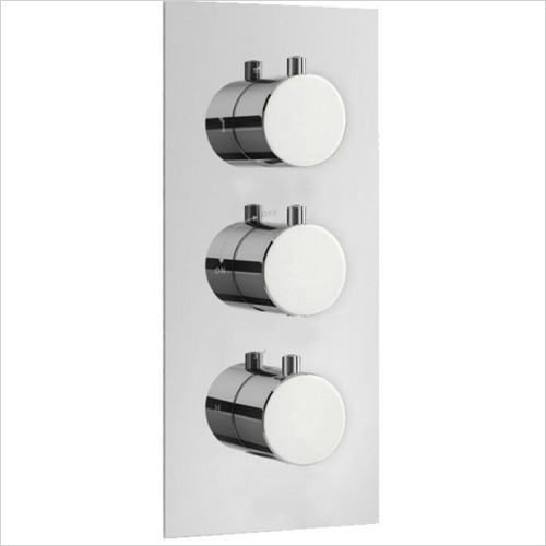 Art Of Living - Emotion Round Thermostatic Shower Mixer (3 Outlet)
