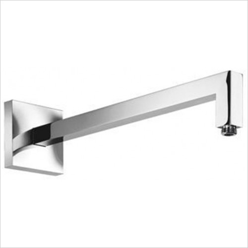 Art Of Living - Temptation Reinforced Square Chrome Wall Arm 420mm