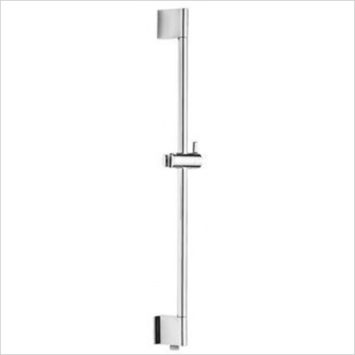 Art Of Living - Temptation Chrome Slide Rail With Water Outlet