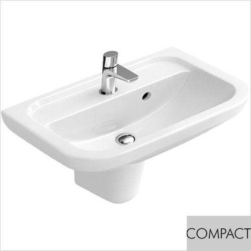 Art Of Living - D-Style Compact Handwash Basin 505 x 400mm
