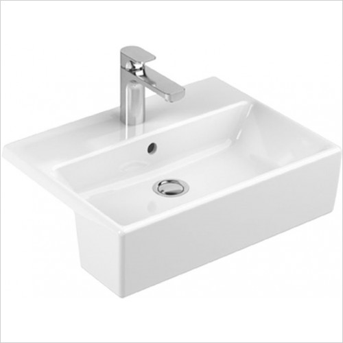 Art Of Living - Pure Semi Recessed Basin 550 x 425mm