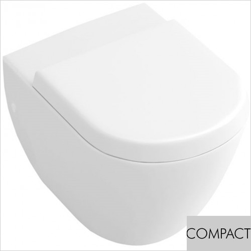 Art Of Living - Simple Compact Wall Hung WC
