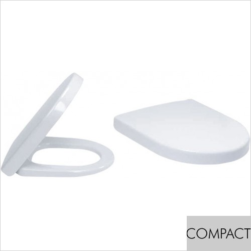 Art Of Living - Simple Compact WC Soft Close Seat & Cover